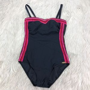Sunflair Swimsuit Retro Striped Swimsuit